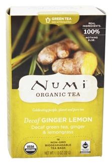 Ingefära & Citron koffeinfritt grönt té - 18 påsar