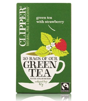 Green tea with strawberry - 20 påsar