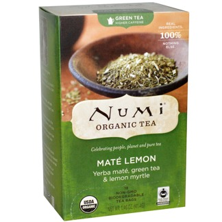 Numi Mate Lemon -