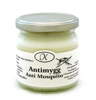 Antimygg aromaterapiljus -