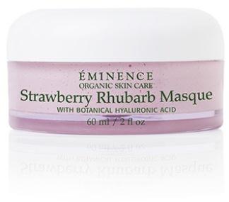 Strawberry & Rhubarb masque -
