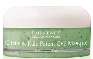 EMINENCE ORGANICS CITRUS & KALE POTENT C+ E MASQUE -