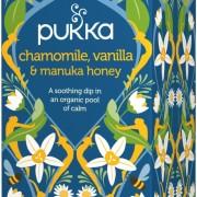 Chamomile, Vanilla & Manuka Honey örtté