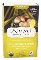 Ingefära & Citron koffeinfritt grönt té
