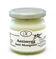 Antimygg aromaterapiljus