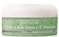 EMINENCE ORGANICS CITRUS & KALE POTENT C+ E MASQUE