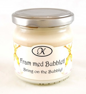 Doftljus, fram med bubblet! - Doftljus Fram med bubblet