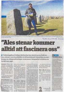 Ystad Allehanda 20/3/2018