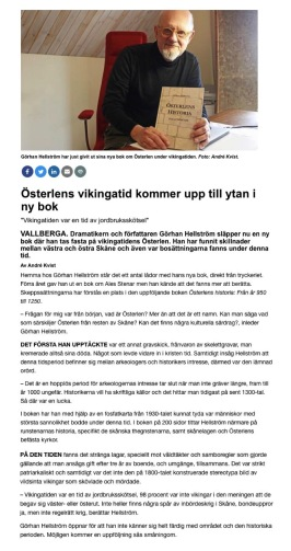 Lokaltidning Ystad 17.3 2019