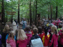Pytteskogens invigning