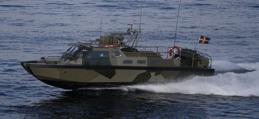 Full fart med Stridsbåt 90 i skärgården