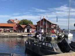 Västkustresan: Förtöjda i Mollösund.