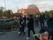 Fackeltåget som avgick från torget i Fjälkinge
