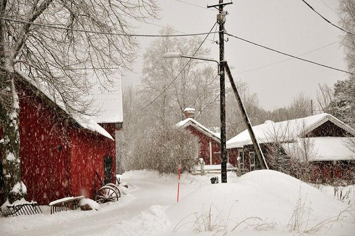 Vinter i Macksta
