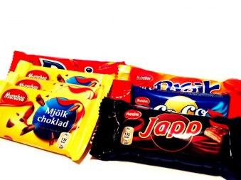Chokladlådan bitar - Chokladlådan bitar
