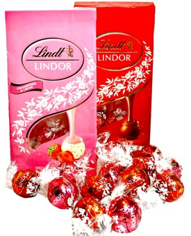 Chokladlådan Lindt Lindor XL