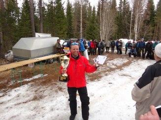 Martin vinnare av vikinganappet 2012