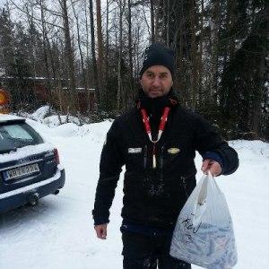 Fredric var en starkt bidragande anledning till segern i partävlingen på Solnen förra helgen.