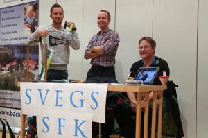 Daniel, Martin & Loe ur Svegs SFK:s styrelse. Foto:www.sveg.se