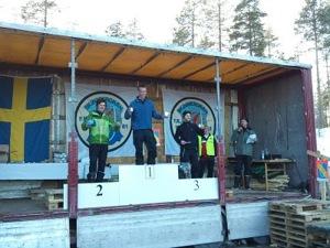 Pallen 2010 bestod av fr v. Thomas Larsson, Micke Rehnman och Martin Södergårds