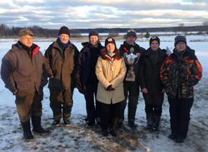 Bilden ovan de olika klassegrarna fr.v. Mikko Paso, JSFK (ÄHV), Peter Berg, ESFK (HV), Maj Pietilä, FKF (ÄDV), Carina Widerberg, TPF (D), Roger Johansson SPF (H), David Öman, TPF (ÄHJ) och Jeanette Sk