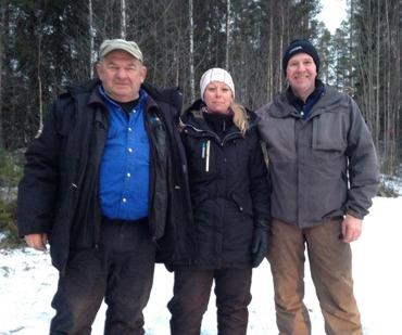 Totalsegrarna i HDH-cupen. Göte Sjölin, Marie Björklin & Lars Jansson