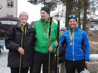 Segrande lag: Gunnbritt Magnusson, Hans Erlingsson och jag (Martin Södergårds)