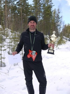 """Vinnare i 2013 års Pimpelsport cup, Jonas """"Mr 100%"""" Gustafsson. Blir det en repris iår?"""