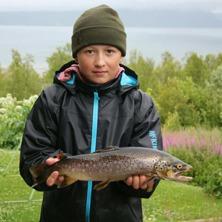 Juniorsegraren Nils Hedlund ifrån Skellefteå