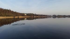 Mormyska DM på Skärvalångens blankis 2016. Foto: Daniel Ahlgren
