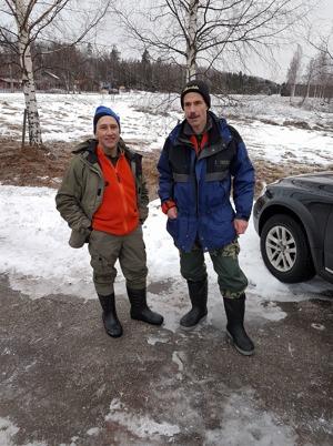 Klassegrarna Bernt Berggren och Dan Esbjörs