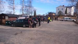 Snart dags för start på DT6, 5-timmars på Bysjön i Ockelbo.