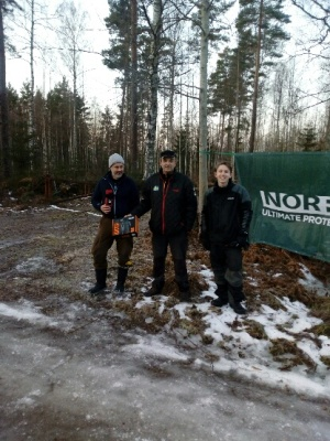 """Pallen"" på DT2: 1a - Thomas Axelsson, 2a - Greger Carlsson, 3a - Johan Kindhlund"