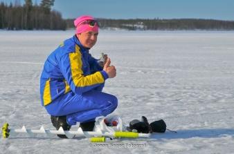 Rosa Mössan agerar flygande reporter på lördag