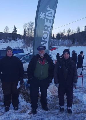 Dagens vinnare var Bernt Forsblom, tvåa Marthina Olsson och trea Tomas Nilsson.