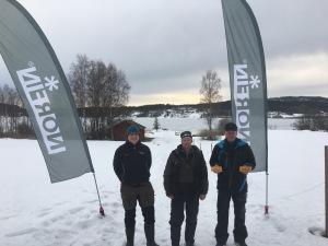 Tommy Sjöstrand, Thomas Nilsson, Börre Omang
