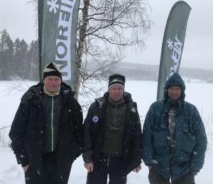 Stig Johansson, Thomas Nilsson, Lars Westlund