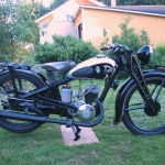DKW KS 200. Årsmodell: 1938. Ägare: Karin Andersson. Renoverad: