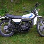 Yamaha 512 DT 250. Årsmodell 1976. Ägare: Jan Zakariasson.