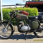 Jawa 350. Årsmodell:1962. Ägare: Göte Persson.