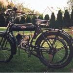 Sölve 248 cc. Årsmodell: 1921. Ägare:Uno Henningsson. Tillverkad i Sölvesborg.