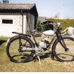 Monark 98 cc. Årsmodell: 1937. Ägare:Uno Henningsson.
