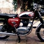 BSA Road Rocket 650 cc, Årsmodell 1966 . Ägare:Uno Henningsson.