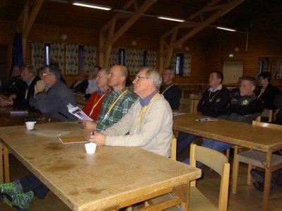 Domargenomgång med Göran Sjöblom. Domare i förgrunden är Björn Lindblom Kronobergs TK, Carl Söderberg Östsvenska TK och Alf Olsson Bohus-Dals TK