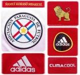 PARAGUAYs hemmatröja i Sydafrika-VM 2010 detaljer