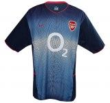 ARSENAL F. C. bortatröja 2002 - 2003 och tredje tröja 2003 - 2004 front