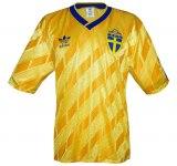 SVERIGEs hemmatröja i Italien-VM 1990 front