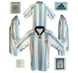 ARGENTINAs hemmatröja i Frankrike-VM 1998