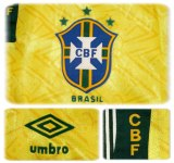 BRASILIENs hemmatröja i Ecuador-Copa America 1993 detaljer