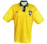 BRASILIENs hemmatröja i Ecuador-Copa America 1993 front